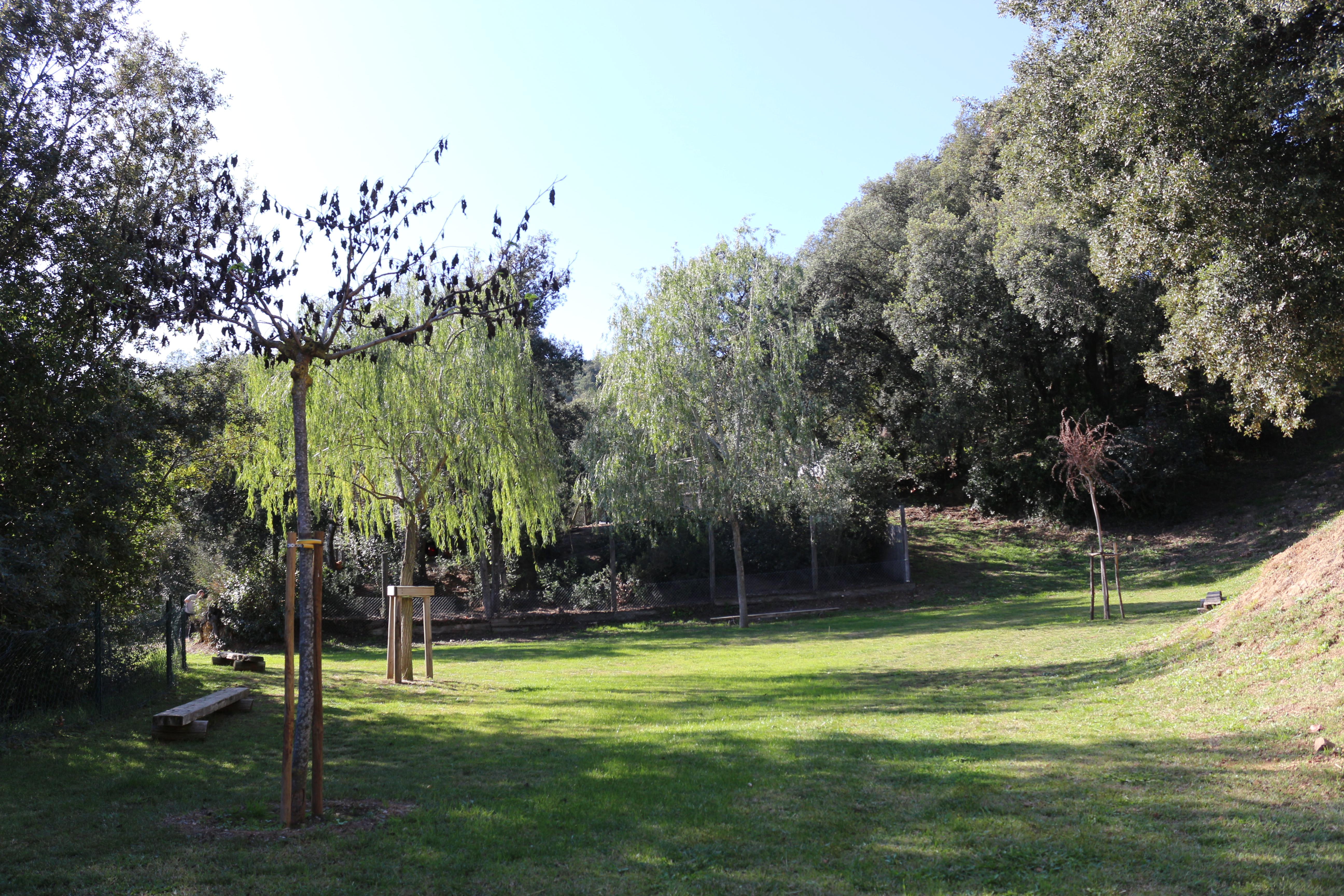 Zona verda tranquil·la